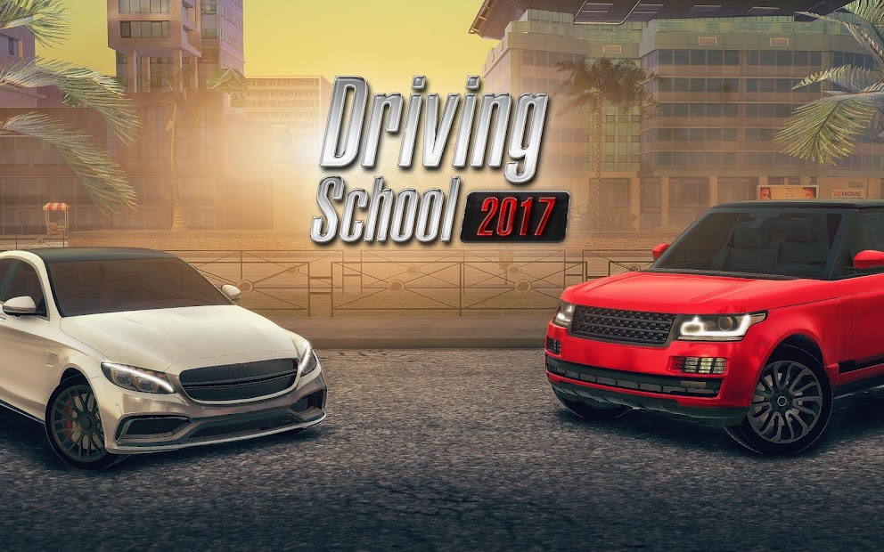Driving School 2017 Android App Screenshot