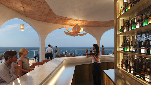 The Sunset Bar on Celebrity Beyond, due to debut in April 2022.