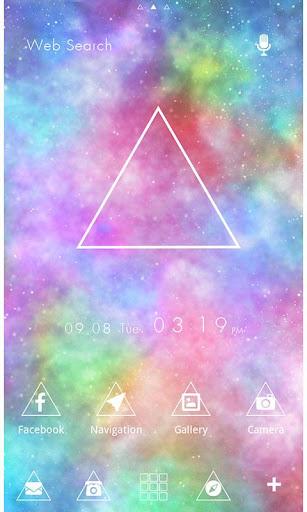 Theme-Psychedelic Triangle- 1.0.0 Windows u7528 1