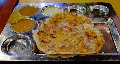 Photo: Onion Rava Dosai Indian Pure Veg Stal Crescat Food Court Restaurant  Colombo Sri Lanka