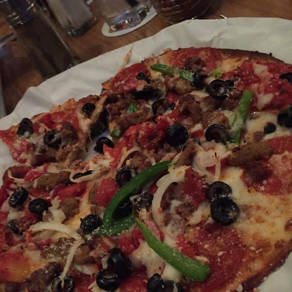 Best gluten free pizza dough..