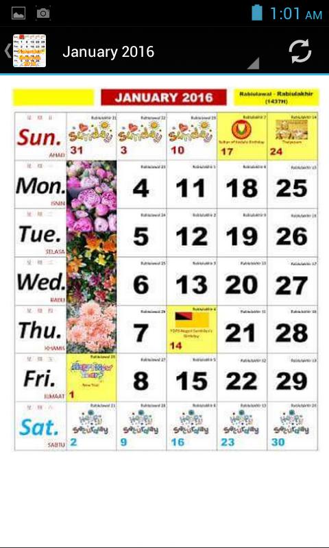2016 calendar 2016 kalendar malaysia calendar 2016 2017 screenshot ...