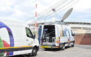 SABC employees were on Tuesday robbed of their broadcasting equipment.