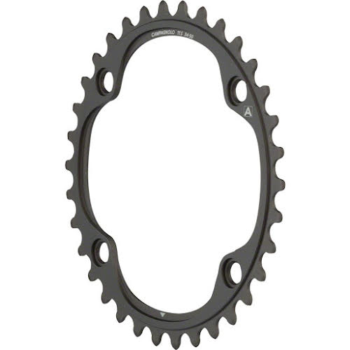 Campagnolo 11 Speed Chainring and Bolt Set for 2015 and later Super Record, Record and Chorus