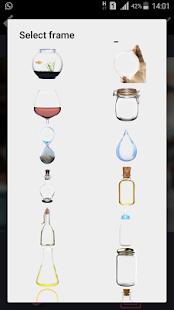 صورتك في إطار زجاجة  رائعة - náhled