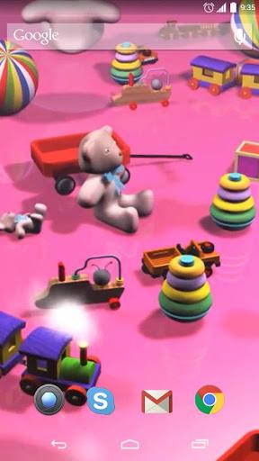 Toys Live Wallpaper