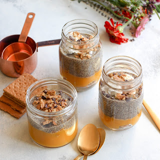 Pumpkin Cinnamon Chia Pudding Parfait