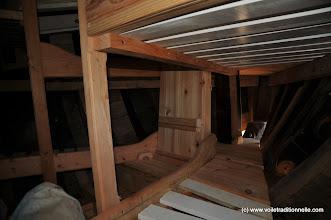 Photo: Et les couchettes qui sont présentées avant finition.
