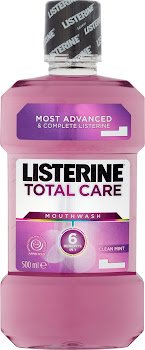 Listerine Total Care Mouthwash - Clean Mint, 500ml
