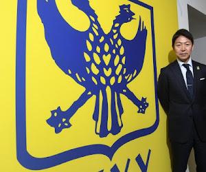 Le propriétaire japonais de Saint-Trond s'exprime ... en néerlandais