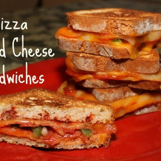 Pizza Grilled Cheese Sandwiches