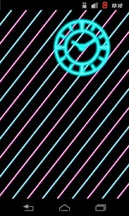 Neon Clock (B)- screenshot thumbnail
