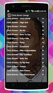 Chris Brown Songs - náhled