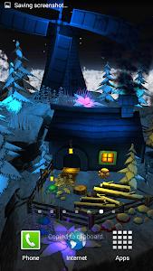Floating Island Parallax LWP screenshot 1