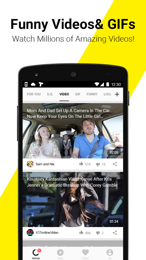 TopBuzz: Trending Videos, Funny GIFs, Top News &TV- screenshot