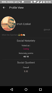 Amigo - Social Network (Beta) screenshot 4
