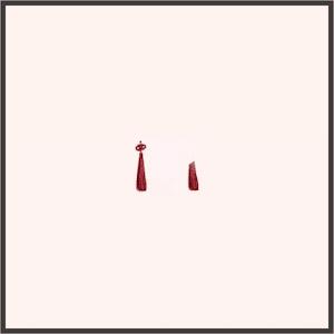雲上結び(赤)