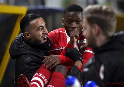 Stallone Limbombe vierde zijn 0-1 tegen STVV op gepaste wijze