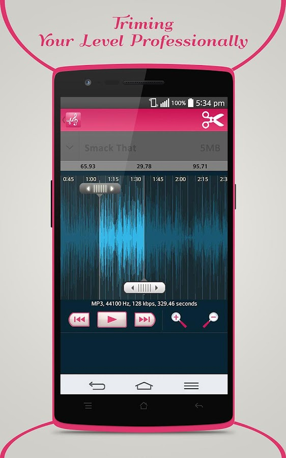 Mp3 Cutter & Ringtone Maker- screenshot