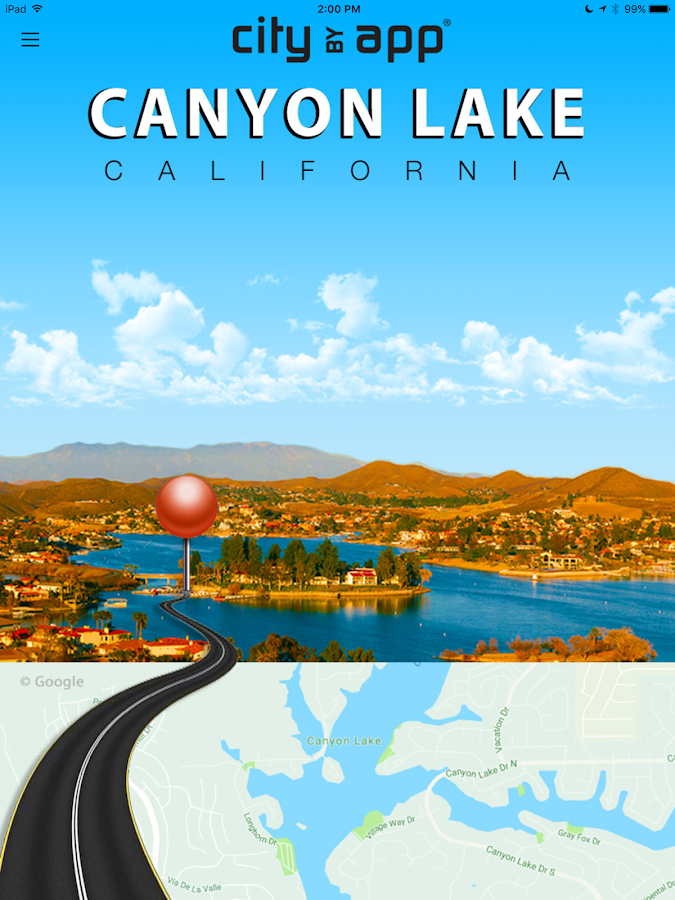 Canyon Lake, CA.- screenshot