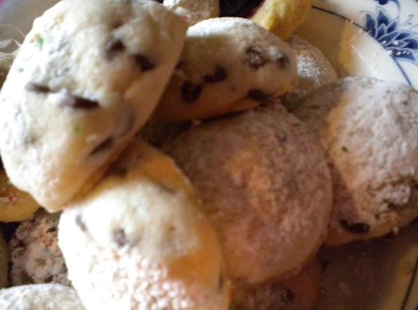 Mini Chip Snowball Cookies Recipe