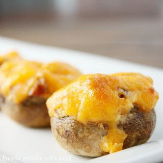 Chorizo and Cheese Stuffed Mushrooms