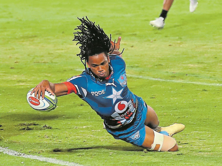 Bulls outside centre Stedman Gans is determined to have a successful career at Loftus.