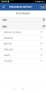 Daksha School - Parent App - náhled