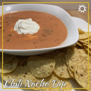 Chili Nacho Dip.