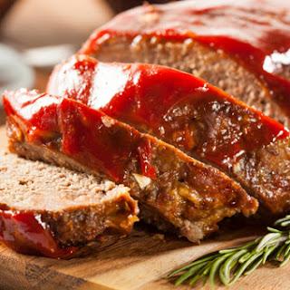 Slow Cooker Meatloaf.