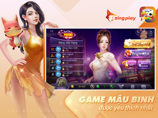 Poker VN - Mu1eadu Binh u2013 Binh Xu1eadp Xu00e1m - ZingPlay apktram screenshots 11
