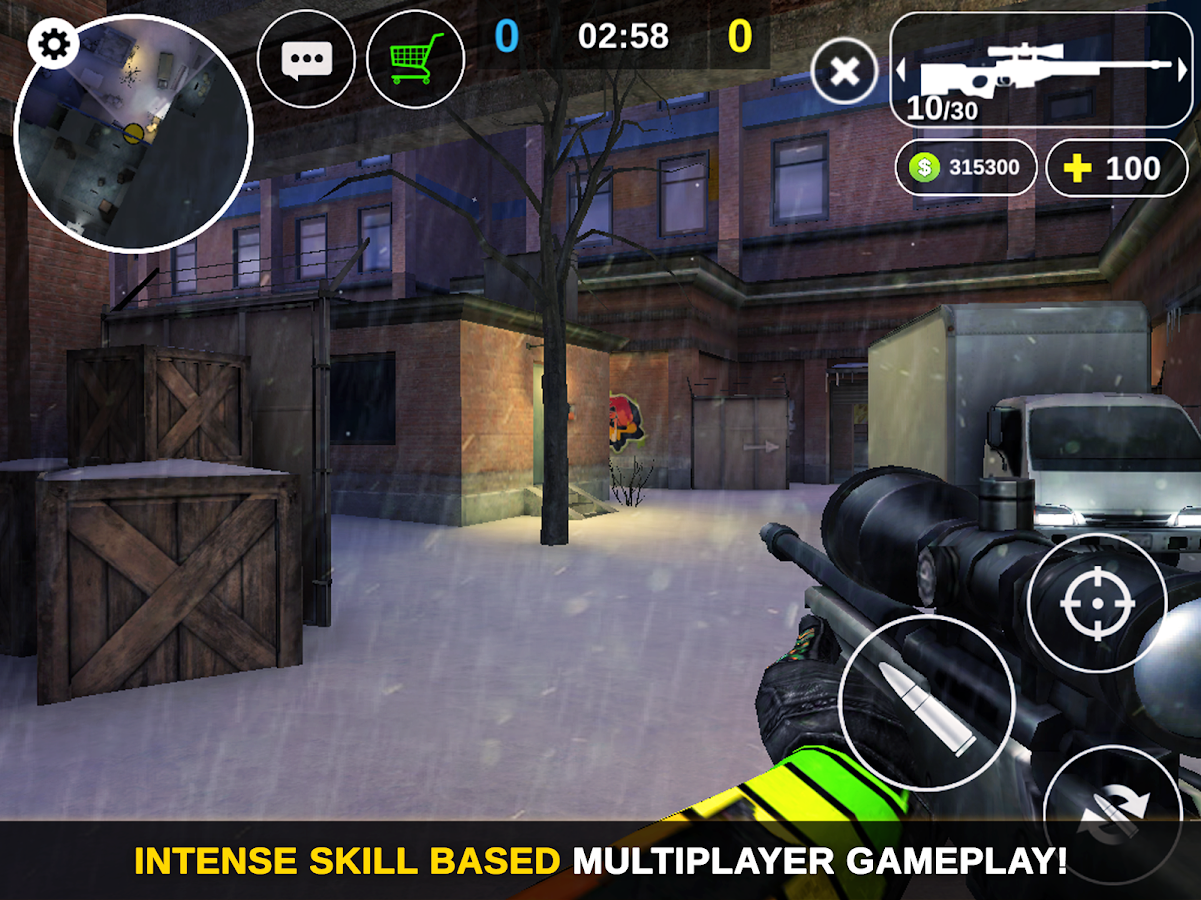 Counter Attack - Multiplayer FPS- screenshot