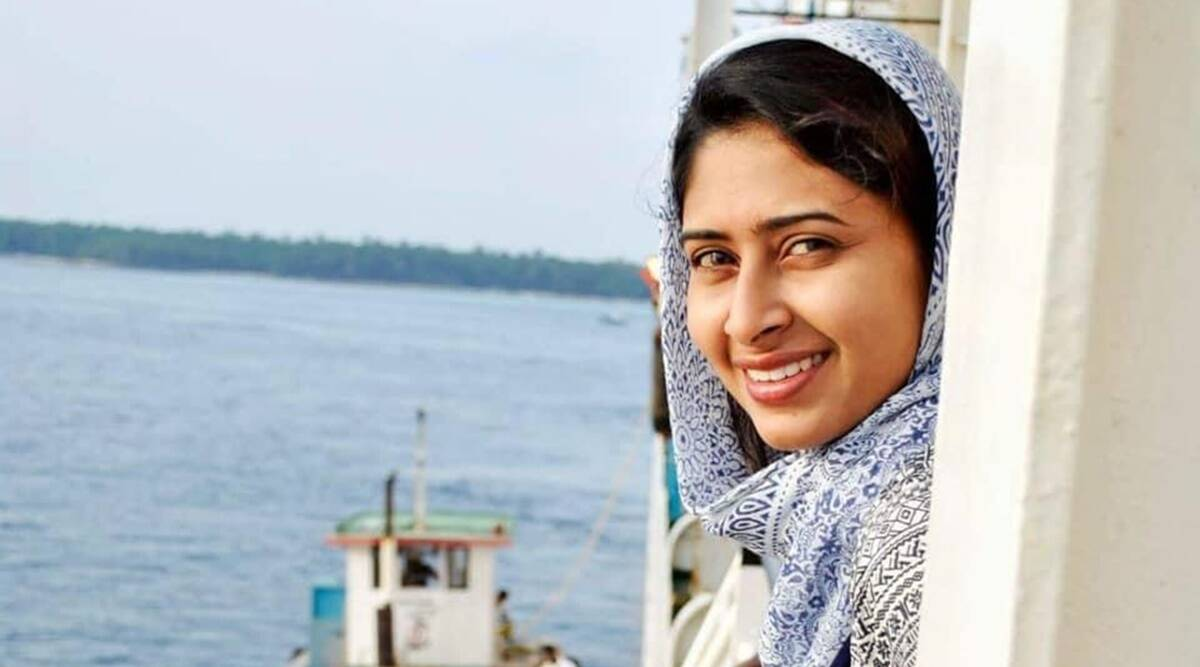 Who is Aisha Sultana, the Lakshadweep-based filmmaker facing sedition  charges? | India News,The Indian Express