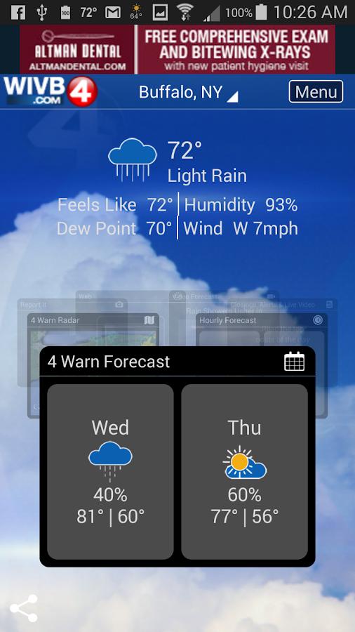 4 warn weather