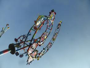 Photo: Windblüte, Windspiel in verschiedensten Ansichten, MIrko Siakkou-Flodin, alte Fahrradteile wieder aufgepäppt
