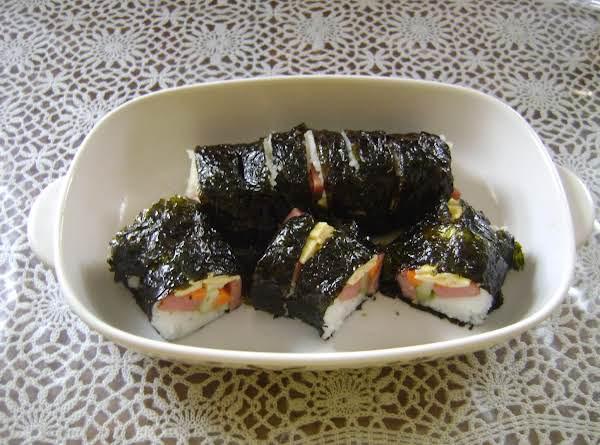 108  Spam Sushi Rolls