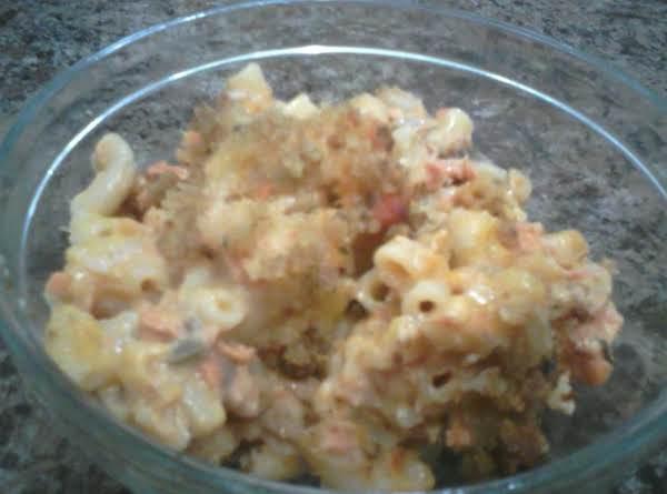 Salmon Macaroni Bake Recipe