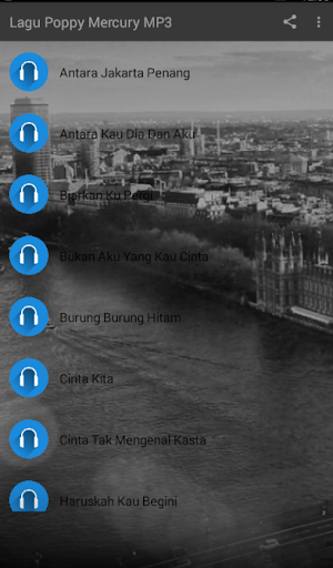 LAGU POPPY MERCURY MP3 1.0 screenshots 1