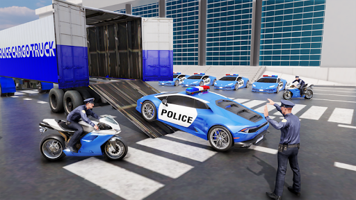 US Police Transporter Plane Simulator screenshot 5
