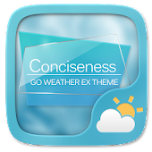 Conciseness GO Weather Widget