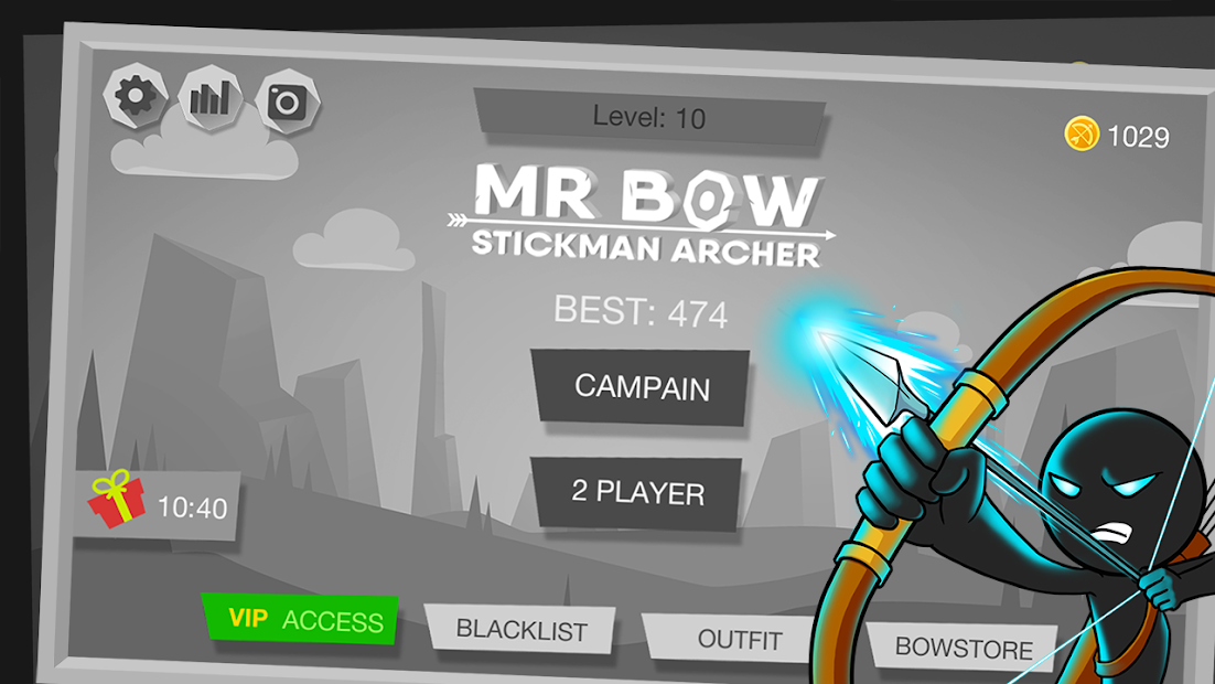 Mr Bow Android App Screenshot