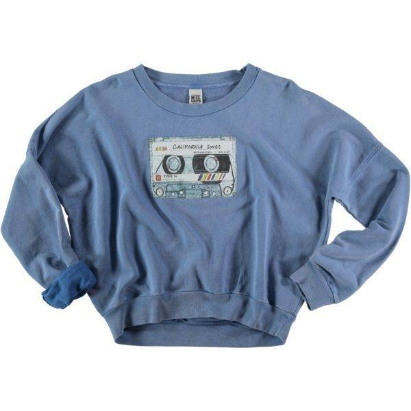 Sweater Cassette Indigo