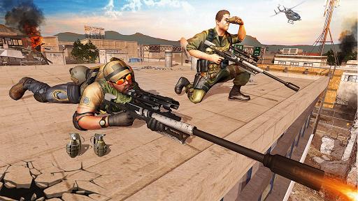 Télécharger Opération spéciale du tireur d'élite Swat 2019 mod apk screenshots 3
