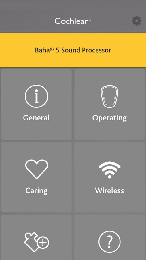 Cochlear Baha Support- screenshot