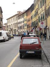 Photo: tipikus olasz utcakép FIATtal