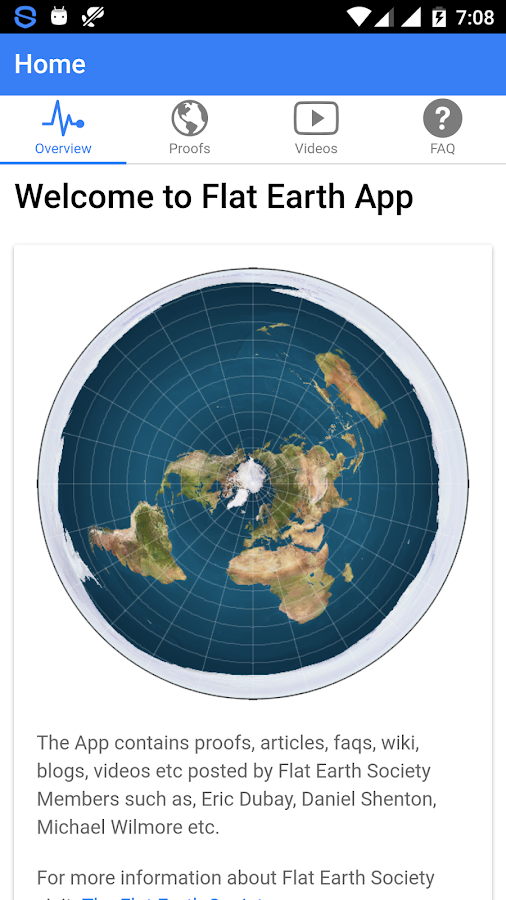 Flat earth app android apps on google play flat earth app screenshot gumiabroncs Gallery
