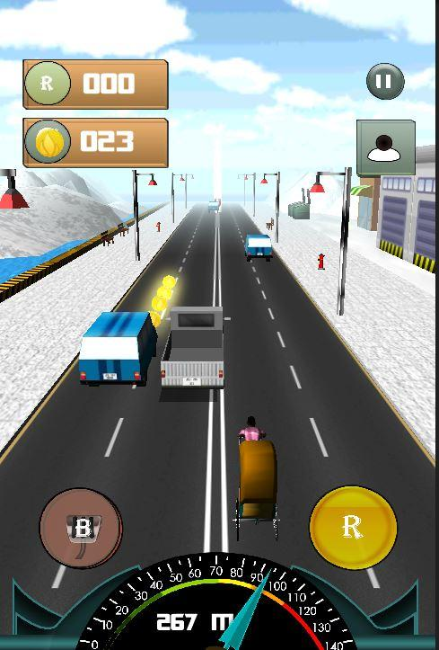 Tuk Tuk Rickshaw Race Advanced- screenshot