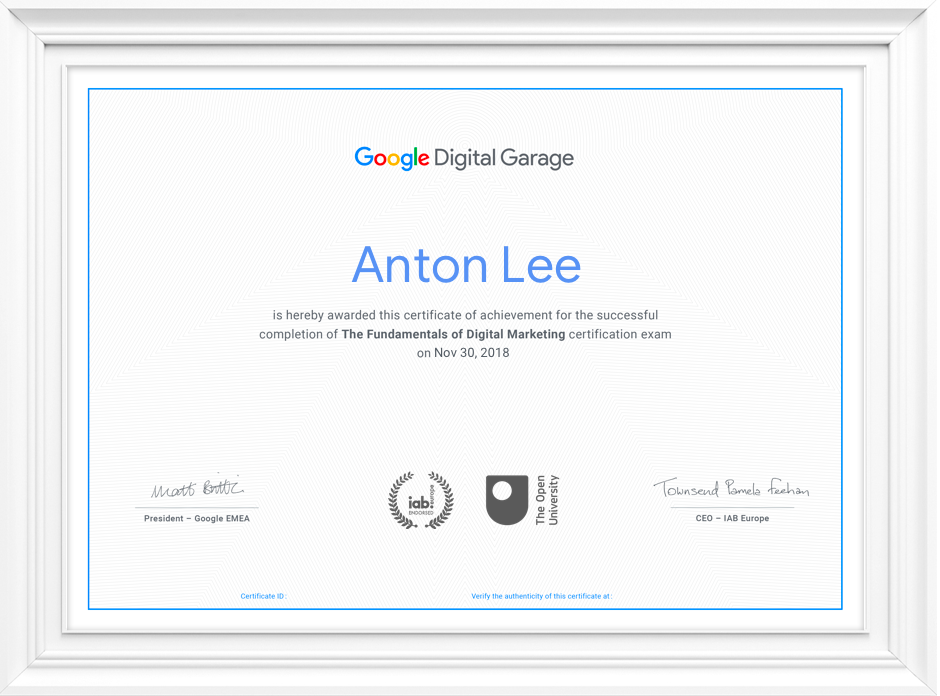 10 Best Online Digital Marketing Certificate Programs 2020