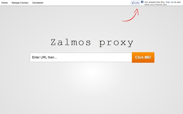 Zalmos SSL Web Proxy for Free