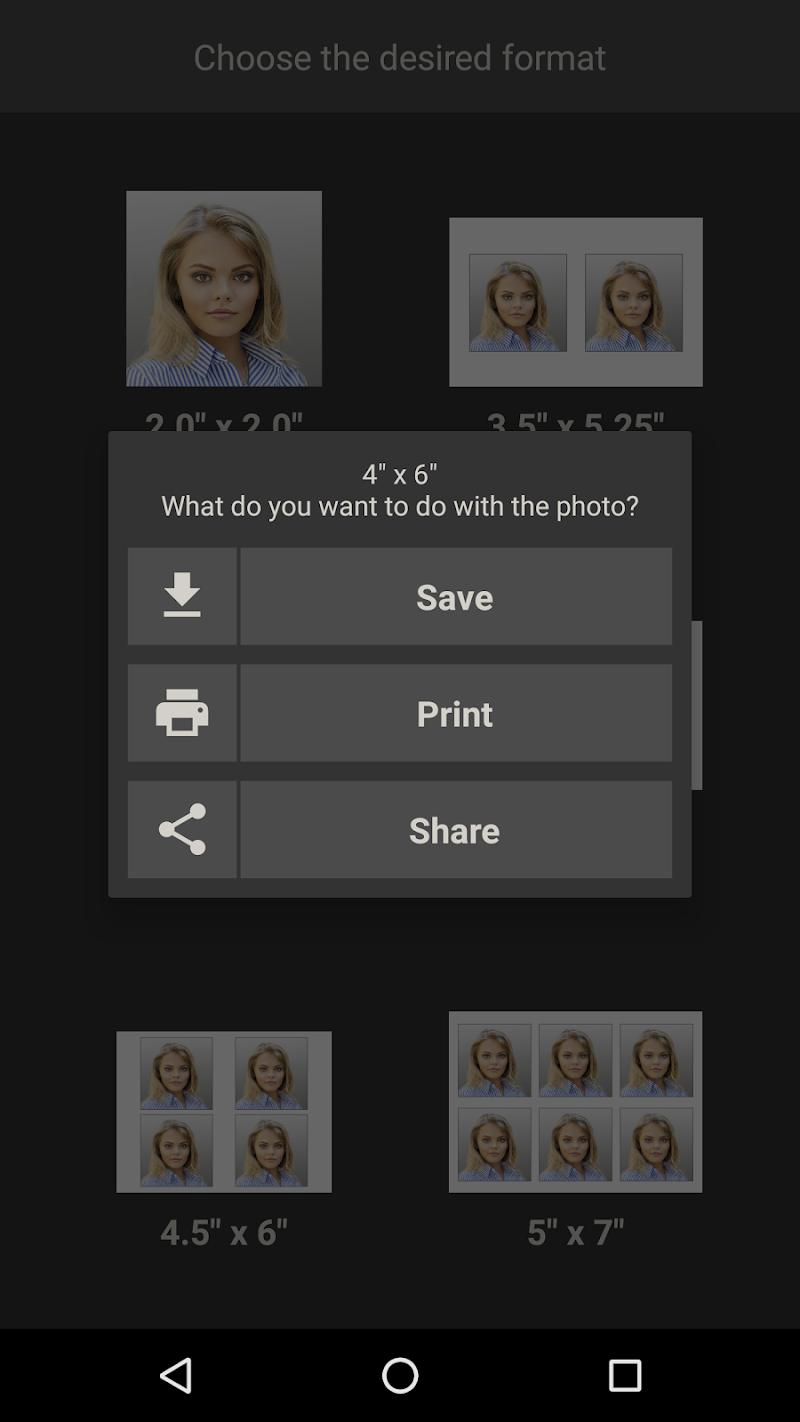 Biometric Passport Photo Screenshot 2